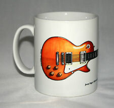 Guitar Mug. Jimmy Page's 1959 Gibson Les Paul #1 illustration.