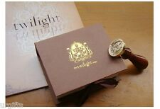 Twilight Logo Seal Stamp w/ Wax Vampire Family Crest Edward Cullen