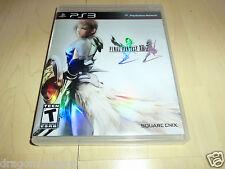 Final Fantasy XIII-2 / 13-2 PS3 komplett, US-Version, sehr gepflegt