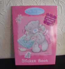 "TATTY TEDDY""ME TO YOU""STICKER BOOK 40 REUSABLE Stickers Colouring pages MakeTAGS"