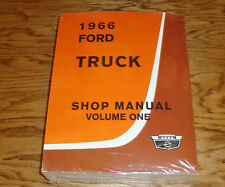 1966 Ford Truck Shop Service Manual Vol 1 2 3 4 Set 66