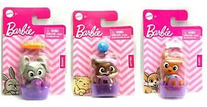 Barbie Doll PET Accessory Toy - You Choose Style - Cat Dog or Bunny
