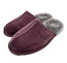 Genuine Men's UGG Australia Scuff Slip On Slippers, Port, Size 11, NEW