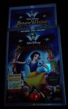 Snow White and the Seven Dwarfs-Blu-ray. 3-Disc Set Slipcover. Wg