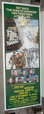 FORCE 10 FROM NAVARONE original ROLLED 1978 14x36 movie poster HARRISON FORD