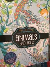 Kaleidoscope Coloring Animals And More Book-Hinkler Books-47 Designs, Perforated