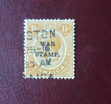 Stamps - jamaica 1919 war stamp - 1 1/2 d - MH - Lot 722