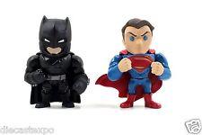 "Brand new in box! 4"" Die-cast Metal Batman v Superman Twin Pack"