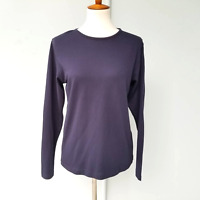 Pendleton Women's Long Sleeve T SHIRT Top Navy Blue NWOT Size Small