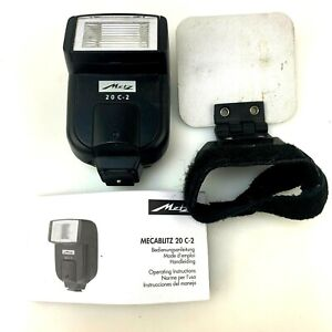 Metz 20 C-2 Mecablitz Electronic Flash & Bounce | RICOH GR Digital III | Tested