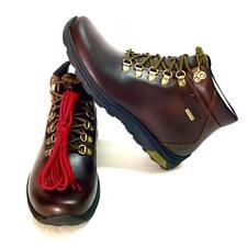 Dunham Trukka Mens 11.5 EE EU 46 Alpine Waterproof Boots Brown Leather Lace Up