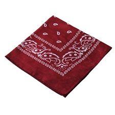 Men Kerchief Paisley Bandana Cotton Soft Neck Scarf Headwear Women Headscarf