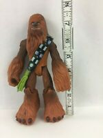 "Chewbacca Jedi Force 2004 Hasbro Playskool 7"" Tall Star Wars Action Figure Toy"