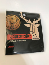 Jagermeister Mini Wooden Stag Trophy Kit, NEW IN PACKAGE, FREE SHIPPING
