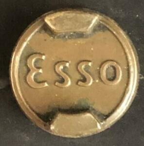 ESSO 2 TWO GALLON PETROL CAN ORIGINAL BRASS CAP