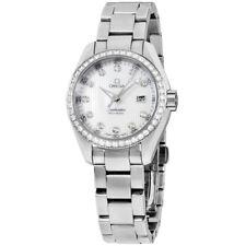 Omega Seamaster Aqua Terra Movimiento de Cuarzo Reloj de Damas 231.15.30.61.55.001