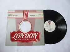 "STEVE HARVEY ~ TONIGHT(REMIX) ~ 1983 UK 12"" BOOGIE VINYL SINGLE ~ PLAYS WELL"
