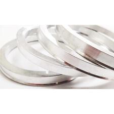 Metal 72.6 - 65.1 SPIGOT RINGS SET OF 4 For Alloy Wheel Hub Centric Spacer