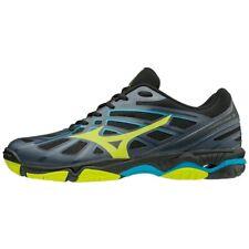 Mizuno Wave Hurricane 3 Grey Black Volleyball Squash Indoor Court Shoes Trainers