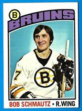 1976-77 Topps BOB SCHMAUTZ (ex) Boston Bruins