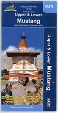NEPA 1:90,000 DAMODAR KUNDA & THE MUSTANGS. NEPAL HIKING TREKKING MAP NA518