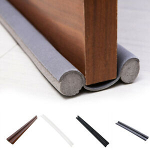 Waterproof Seal Strip Draught Excluder Stopper Door Bottom Guard Double Home