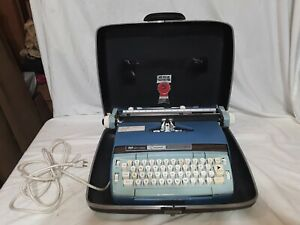 Smith Corona Coronet Automatic 12 Electric 1960s Typewriter Works Script Type