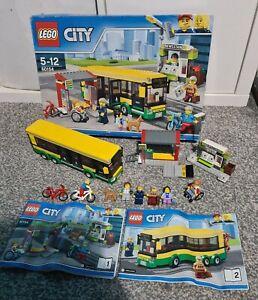 Lego City 60154 Bus Station Set