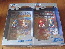 Sonic The Hedgehog 25 Sonic + Tails + Nudillos 2 Pack Lot Of 2 Tomy Nuevo