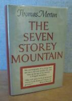 THE SEVEN STOREY MOUNTAIN by Thomas Merton 1948 1st Ed. 2nd State, 2nd Issue DJ