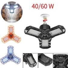 40/60W LED Shop Lights Garage Deformable Waterproof Panels Ceiling Lights Lamp