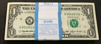 RARE ✯ 1993 STAR NOTE $1 One Dollar Bill Crisp Consecutive UNC from BEP Dallas