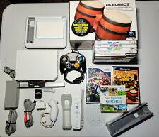 Nintendo Wii 8 Game Bundle | Super Smash Bros w/Gc controller | Donkey Konga