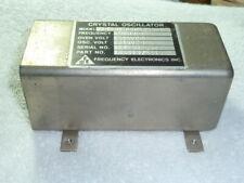 1 One Frequency Electronics 10mhz Tcxo Model Fe 20 0pc S 661