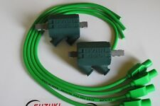 Kawasaki Z1100R ELR Dyna Performance Ignition Coils and Taylor Leads. Green !