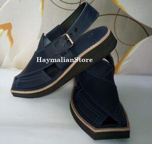 Imran Khan-Kaptan chappal Pure/Original  LEATHER Sandals Handmade from Pakistan