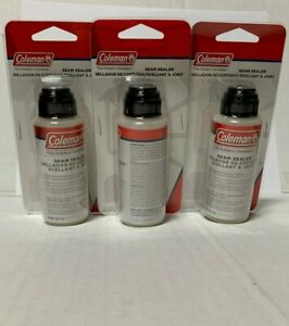 Coleman Weatherproof Seam Sealer/Sealant; [Water Based] |Pack of 3 Bottles| New!