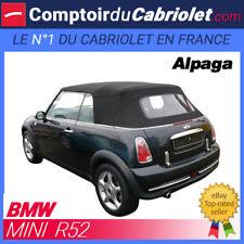 Capote Bmw Mini Cooper R52 cabriolet en Alpaga