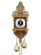 Zaanse Dutch Vintage Antique Warmink WUBA Wall Clock (Hermle Junghans Era)
