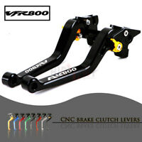 CNC 1 PAIR Lever Long Adjustable Brake Clutch Levers for HONDA VFR800/F 02-18
