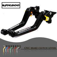 CNC 1 PAIR Lever Long Adjustable Brake Clutch Levers for HONDA VFR800/F 02-18