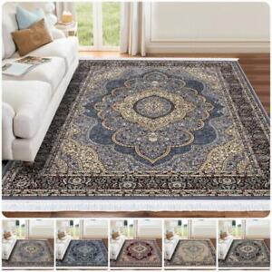 New Traditional Vintage Large Area Rugs Living Room Bedroom Carpet Rug Floor Mat