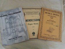 Kreckel Musica Divina, Mendelssohn Organ Works, Chapel Voluntaries Organ, piano