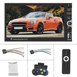 7''2 DIN Car MP5 Player Bluetooth Wireless Touch Screen Stereo Radio TF card