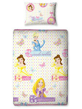 Original Disney Princesa Prinzessinen ropa de cama 135x200 Nuevo Set