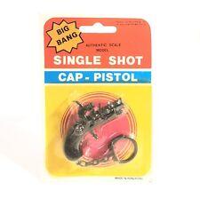 Vintage Big Bang Single Shot Cap Pistol Pirate Gun Keychain