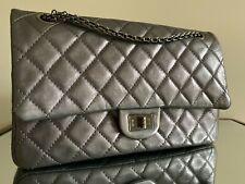 Chanel Handbag 2.55 Large Reissue Purse Shoulder Bag Classic Timeless Aged