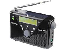 Roberts Radio Solar Dab 2 Black