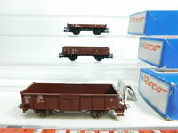 BI546-0,5# 3x Roco H0/AC Güterwagen DB NEM: 509 1 973-9 etc, NEUW+(OVP)