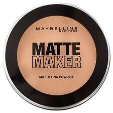 MAYBELLINE MATTE MAKER POWDER # 50 SUN BEIGE 16gm MAKEUP FOUNDATION PRESSED